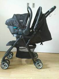 Joie travel system used on two trips abroad