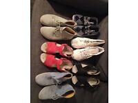 Assortment of Ladies Shoes Size 6 & 7 Hotter & Vans