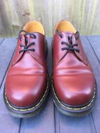 Red Dr Martens Size 8