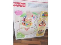 Rainforest jumperoo used with box