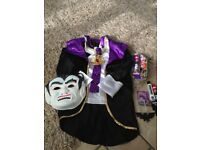 halloween marks and spencer dracula outfit and extras 5-6