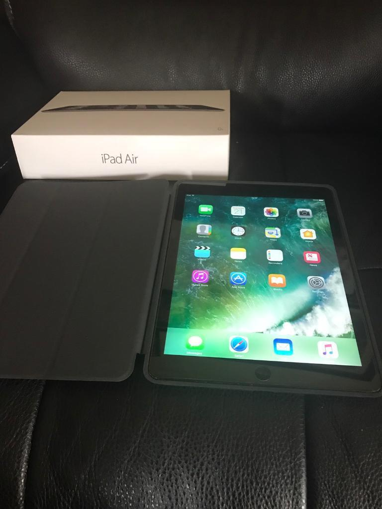 iPad Air 32gb boxedin ManchesterGumtree - iPad Air 32gb boxed glass screen protector and case In excellent condition n full working order Reset back to factory settings