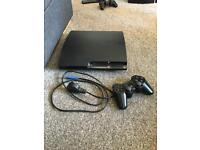 Playstation 3 320gb 1 controller and 21 games