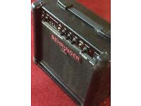 Behringer guitar amplifier.