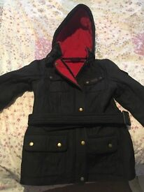 Barbour international coat