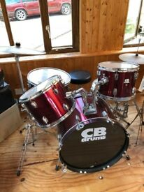 CB Drum Kit - 6 piece (good as new!)