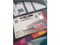 Creamfields tickets x 2