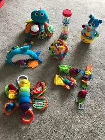 Baby Toy Bundle including Lamaze