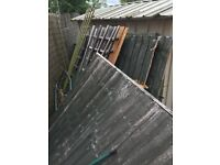 FREE WOOD / fence panels etc