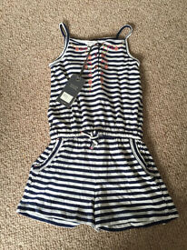 Fat Face Play Suit Age 6-7 Brand New