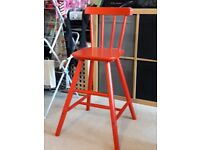 Childrens Red Ikea Agam Chair