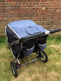 Out n About Double Stroller buggy pushchair