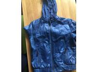 Leather jacket age 9/10