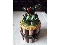 Villeroy and Boch Christmas trinket box