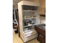 Framec Open Fronted Multi-Deck Display Fridge with night curtain QUICK SALE
