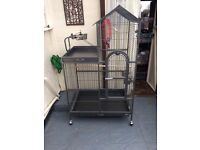 Parrot cage large as new condition