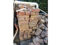 Reclaimed Edwardian bricks