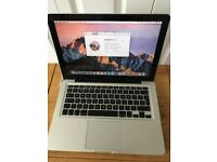 "MacBook Pro 13"" 2010 .2.4 Ghz. 1 TB Hard drive . 8 Gb Ram. Sierra . OS X."