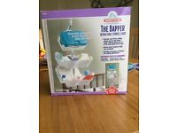 Retractable Storage Caddy for baby changing products