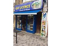 Off Licence For Sale, Busy High Street