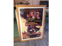 "Framed film poster ""Once Upon A Time In The West"""