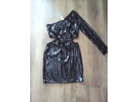 lipsy sequence dress size 10