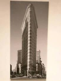New York skyscraper canvas picture