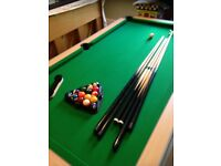 7ft Gatley deluxe folding pool table