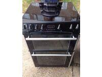 £129.00 Belling black ceramic electric cooker+60cm+3 months warranty for £129.00