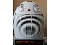 Upright Fan Heater with Thermostat 2400W