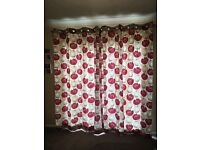 Eyelet top curtains from John Lewis