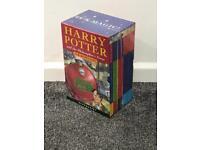Harry Potter Box Set 1-4 Handback J.K Rowling Hardback New and Sealed Books