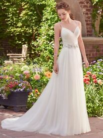 Rebecca Ingram wedding dress for sale size 8 brand new