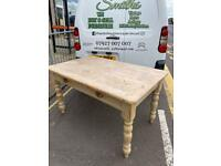 Farm house scrub top vintage dining table W137 X 83 Cm . Great looking table.