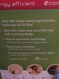 New, boxed Econo walled heater