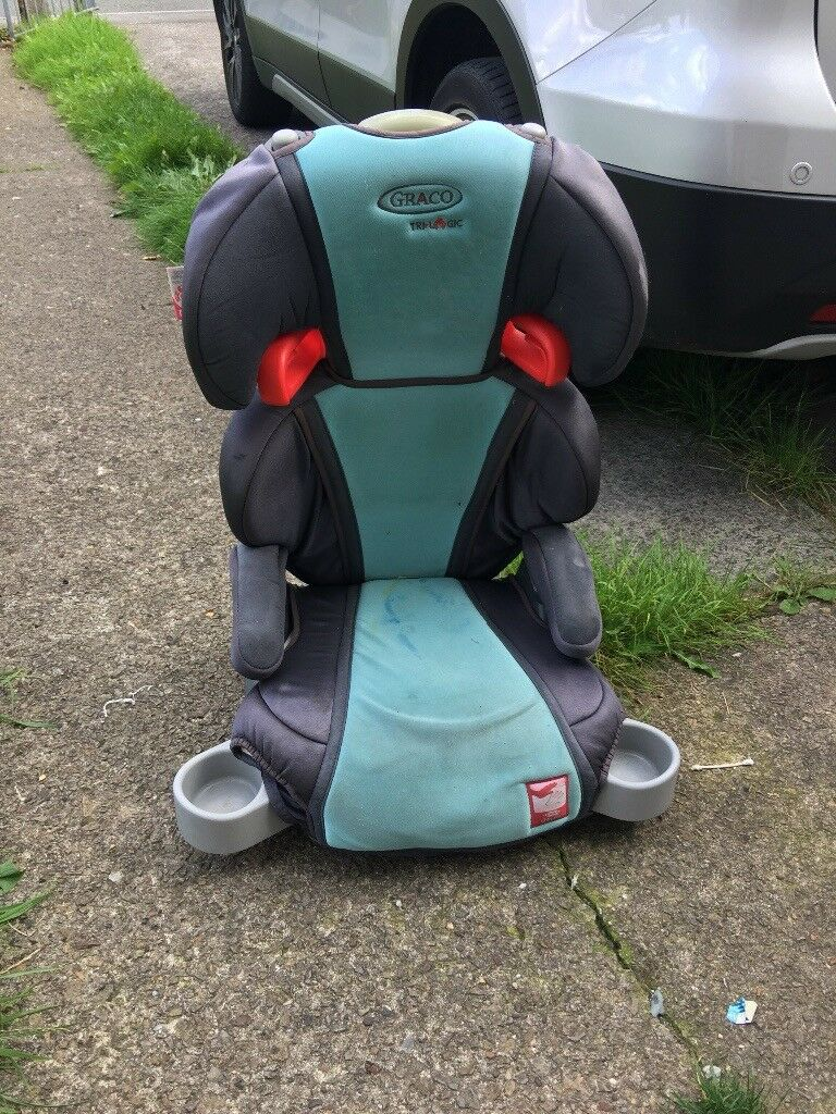Baby Safety Car Seat With Bottle Holders