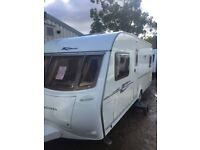 Coachman wanderer 18/4 2006 4 berth fixed bed