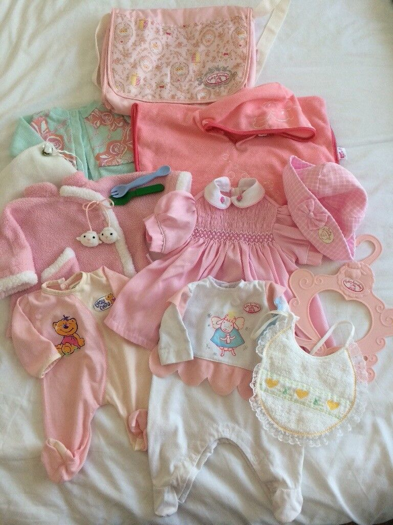 Baby Annabell Doll clothes Bundle lot 2 | in Norwich ...