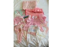 Baby Annabell Doll clothes Bundle lot 2