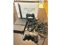PLAYSTATION 2 PS2 SLIMLINE CONSOLE BLACK