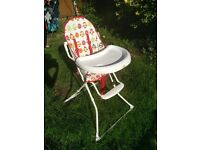Baby High Chair Highchair Red Kite Feed Me Tweet