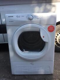 New condition greaded Hoover condenser dryer 9kg bargain price £120 price