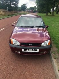 2001 FORD FIESTA, THREE DOOR AND GENUINE LOW MILLEAGE