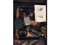 Sony DSR-PDX10P Camcorder with accessories