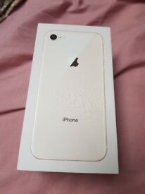 Iphone 8 rose gold 256GB BRAND NEW UNLOCKED