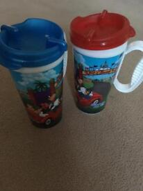 Disney Travel Drinks Cups