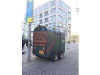 Food van, catering trailer, street food