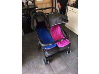 Twin 'Joie' Buggy/Stroller