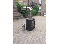For sale gas fire stove perfect condition with all fittings