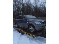 Spare or repaires Kia Sorento diesel